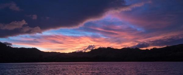 Sunrise in Katherine Bay