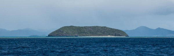 Driven Island from a distance