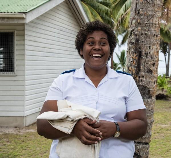 Sarah, the village nurse, an important job in the community
