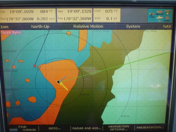Our anchorage on Avionics