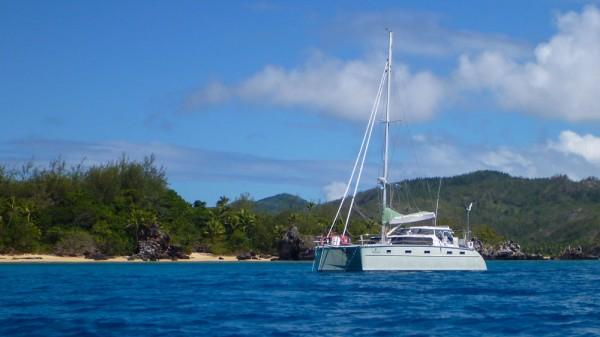 Vuro Levu day anchorage