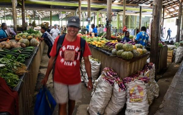 The Nadi market