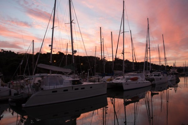 Whistler back on the dock at Whangarei Marina