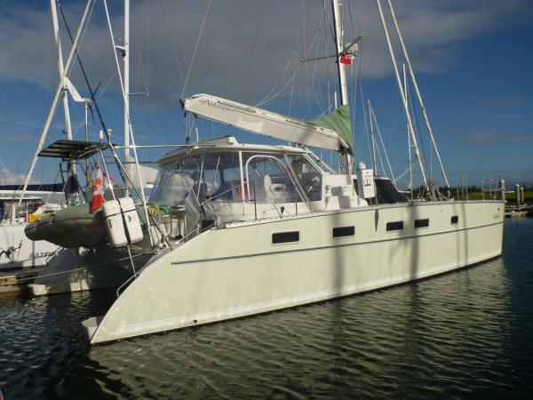 Whistler docked at Marsden Cove