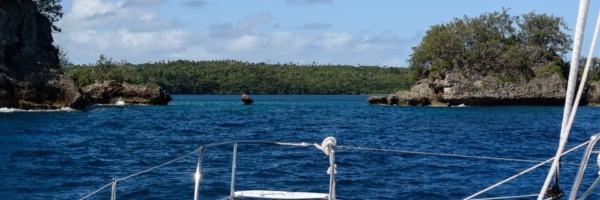 Hunga Lagoon's Entrance